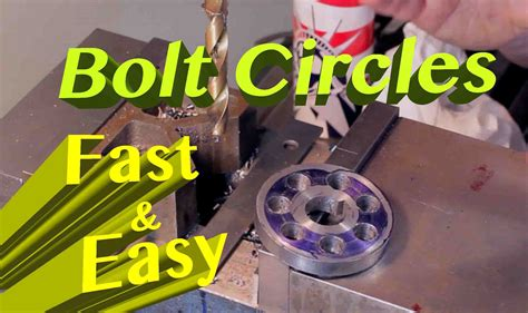 How To Drill A Bolt Circle