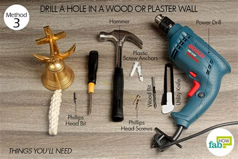 How To Drill A Hole For A Screw
