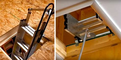 How To Drill A Hole In A Tight Space Attic Ladders