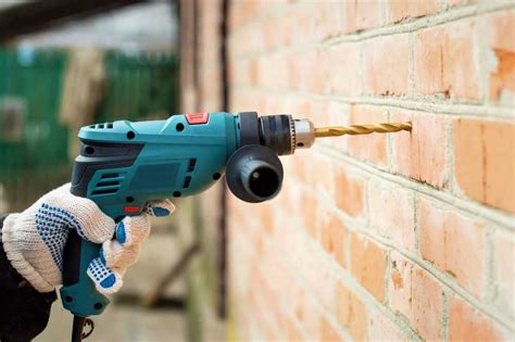 How To Drill A Hole In Brick Wall