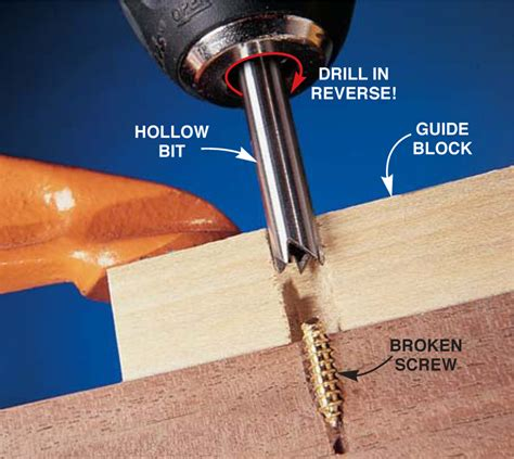 How To Drill A Screw Out Video