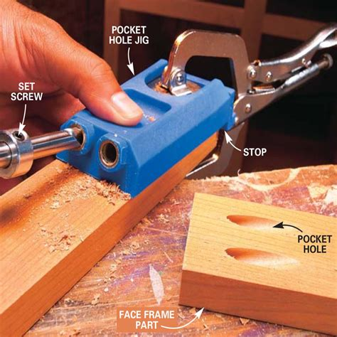 How To Drill Pocket Holes For Furniture