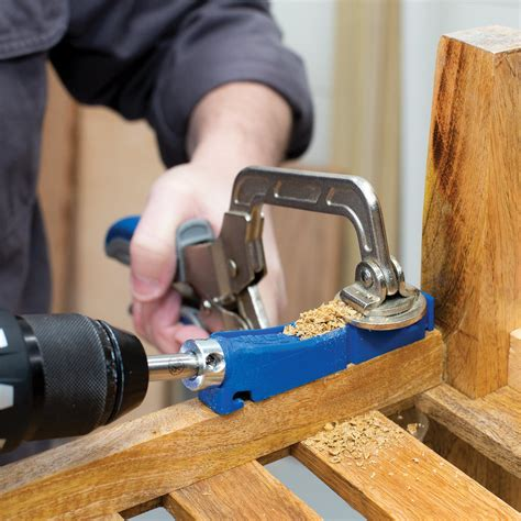 How To Drill Pocket Holes With Kreg Jig