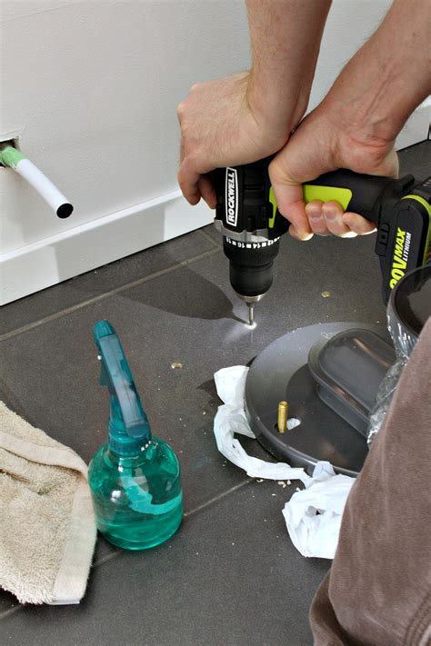 How To Drill Tap Holes In Tiles