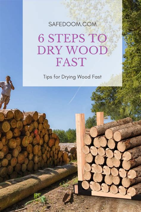 How To Dry Out Wood Faster