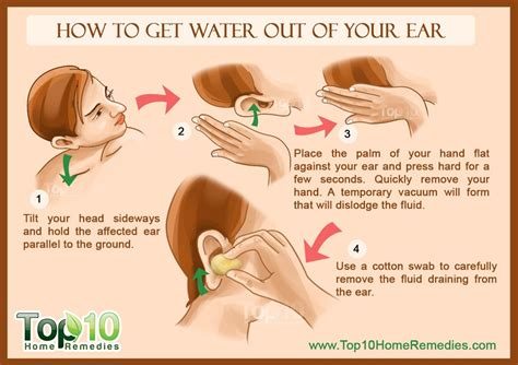 How To Dry Water In Your Ears