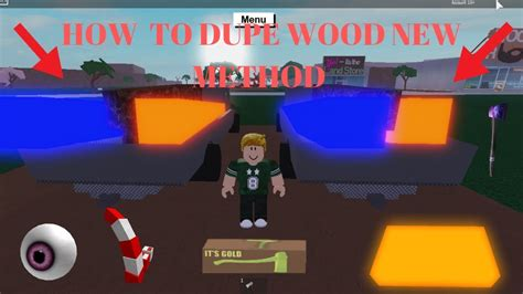 How To Dupe Wood On Roblox