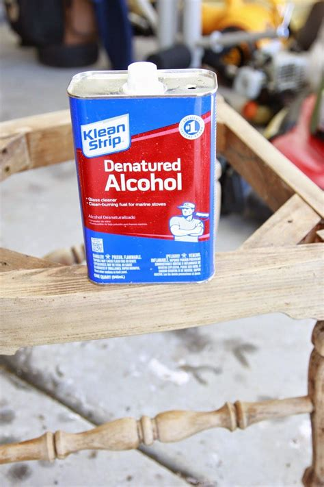 How To Dye Wood With Denatured Alcohol