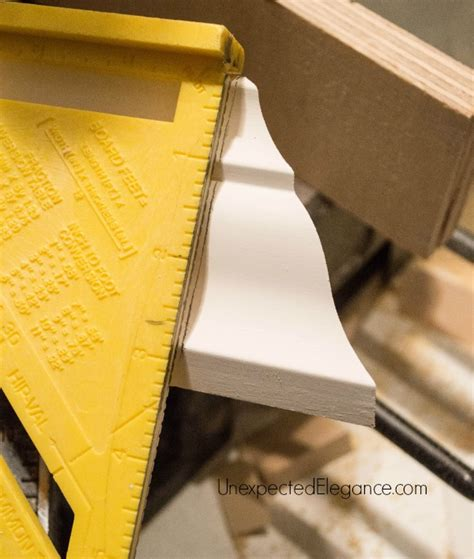 How To End Crown Molding On Straight Run