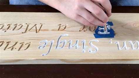 How To Engrave Wood Diy Ideas