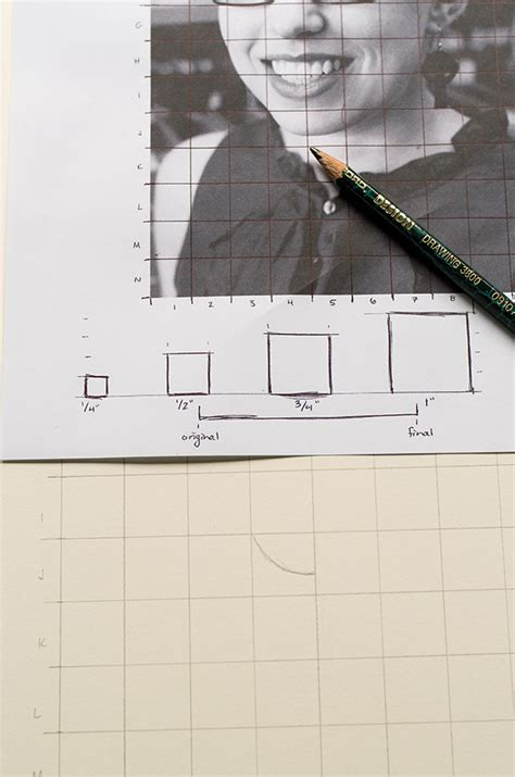 How To Enlarge A Drawing Using Graph Paper