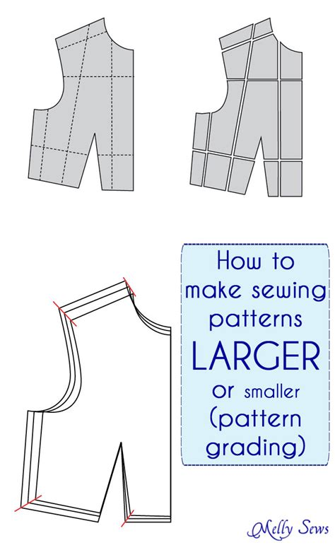 How To Enlarge A Pattern For Sewing
