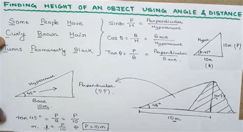 How To Figure Angles And Distance