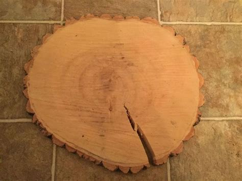 How To Fill Cracks In Wood Slices