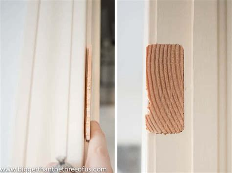 How To Fill Door Hinge Holes