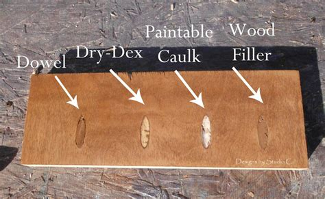 How To Fill Holes In Wood Before Painting