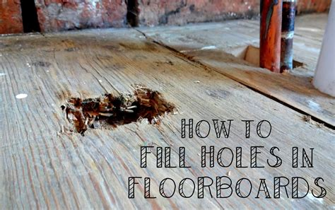 How To Fill Large Holes In Wood