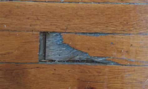 How To Fill Large Holes In Wood Floors