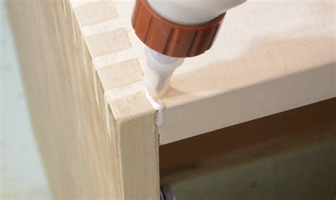 How To Fill Wood Joints