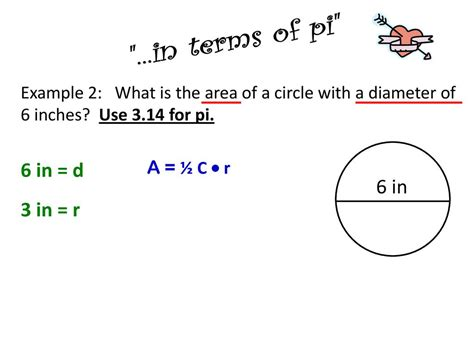 How To Find The Diameter Of A Circle Area