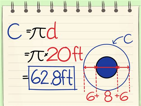 How To Find The Diameter Of A Circle From The Circumference