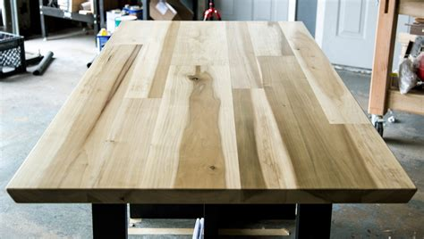 How To Finish A Poplar Table Top