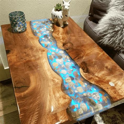 How To Finish A Table Top With Resin Coating