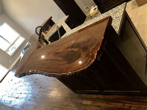 How To Finish A Walnut Bar Top