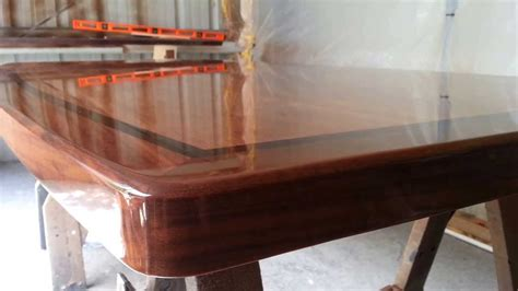 How To Finish Cherry Wood With Polyester