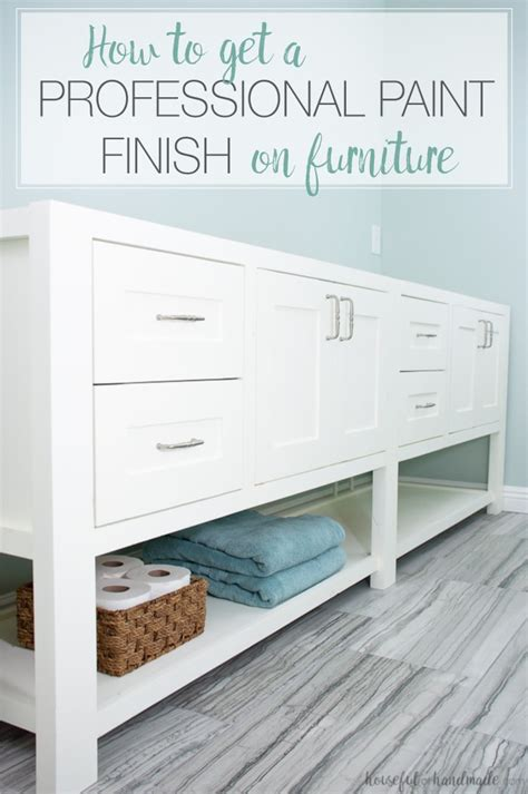 How To Finish Furniture Professionally