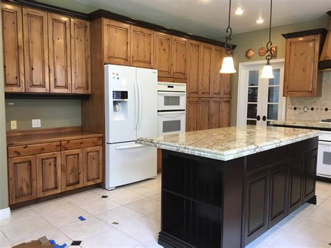 How To Finish Kitchen Cabinets Staining