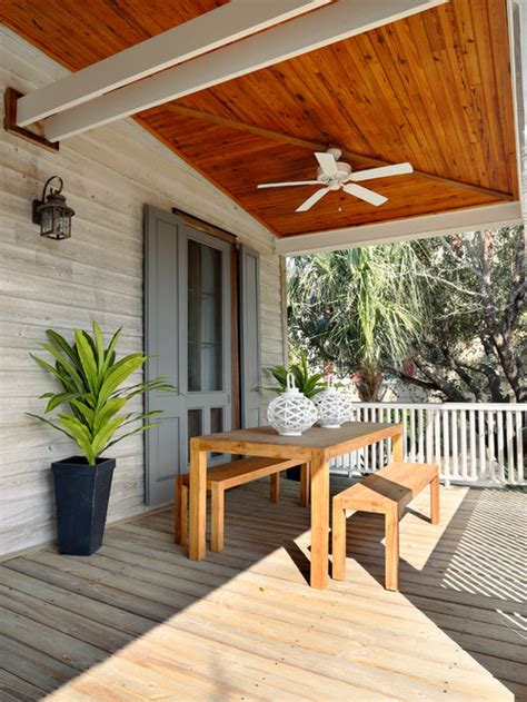 How To Finish New Wood Porch Ceiling