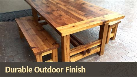 How To Finish Oak Outside