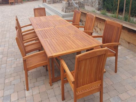 How To Finish Outdoor Teak Furniture
