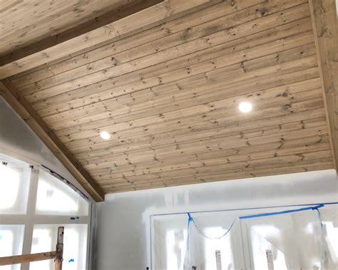 How To Finish Pine Wood Ceilings