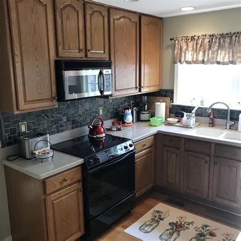 How To Finish Red Oak Cabinets