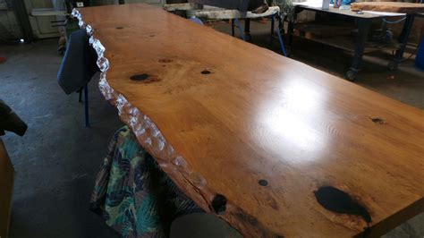 How To Finish Redwood Burl Tables