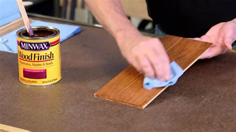 How To Finish Staining Wood