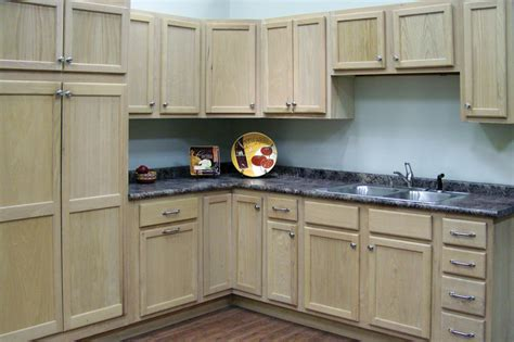 How To Finish Unfinished Oak Cabinets