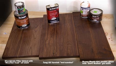 How To Finish Walnut Wood