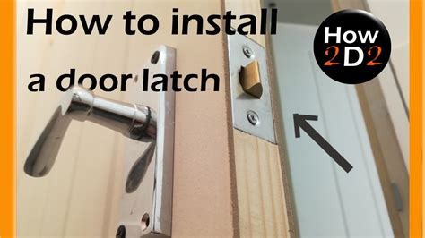 How To Fit A Lock Into An Interior Door
