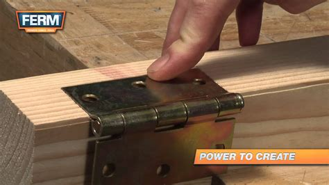 How To Fit Door Hinges Properly Displaying