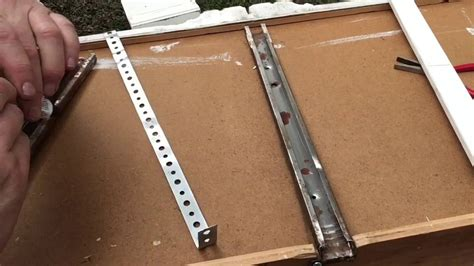 How To Fix A Broken Drawer Track Center
