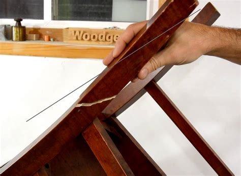 How To Fix A Broken Wooden Chair Legs