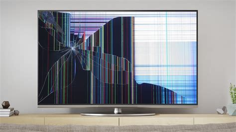 How To Fix A Cracked Tv Screen