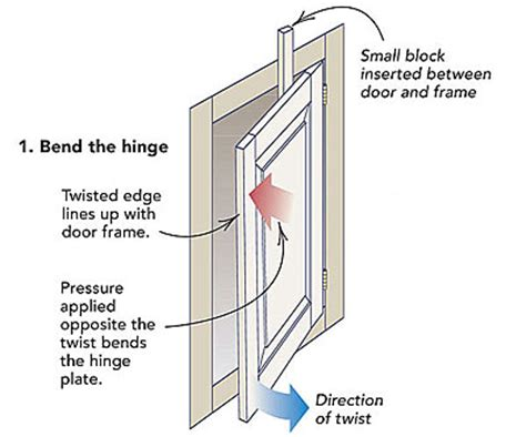 How To Fix A Warped Door On A Hutch