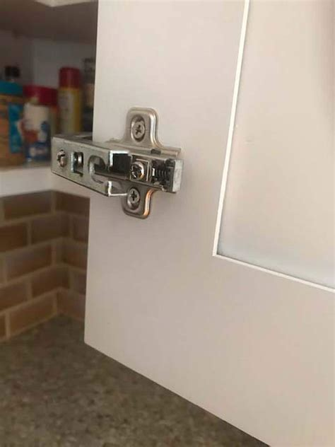 How To Fix Cabinet Hinges