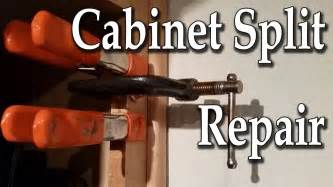 How To Fix Cabinet Hinges That Split
