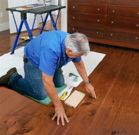 How To Fix Chipped Wood Floor