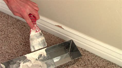 How To Fix Chipped Wood On Baseboards